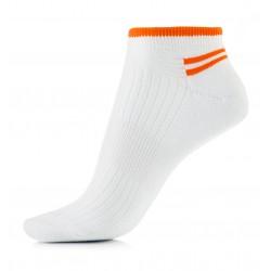 Sportowe skarpetki stopki damskie dla aktywnych sportowo kobiet.