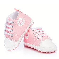 Trampki niemowlęce ocieplane - KTW001 pink