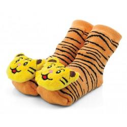 Skarpetki z grzechotką tygryski - BRA040