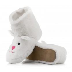 Wysokie botki damskie - króliczki.