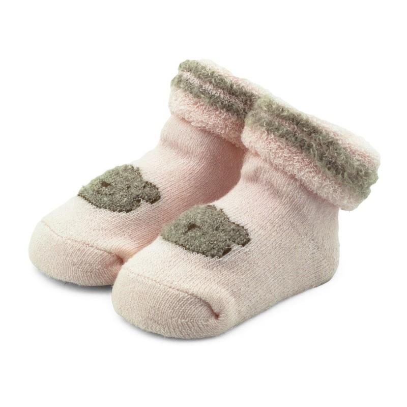 ce5de8020fe277 Skarpetki niemowlęce frotki różowe - TBS002 pink Kolor Rożowy Rozmiar  skarpetek 19/20 - 6-12 miesięcy