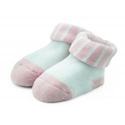 Skarpetki niemowlęce frotki różowe - TBS007 pink